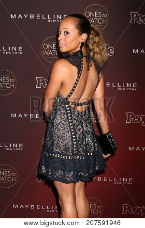 LOS ANGELES - OCT 4:  Essence Atkins at the 2017 People's Ones To Watch at the NeueHouse Hollywood on October 4, 2017 in Los Angeles, CA