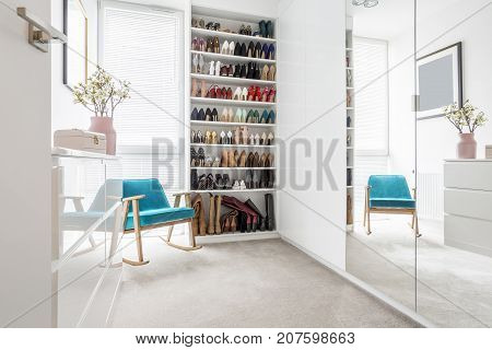 Woman's White Room