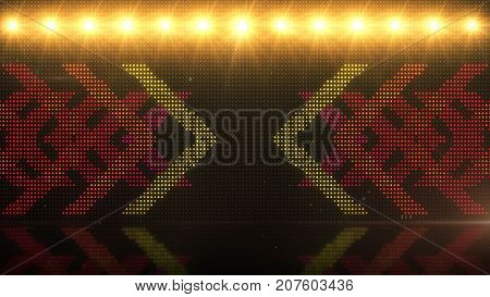 High Definition Cgi Motion Backgrounds Ideal For Editing, Led Backdrops Or Broadcasting Featuring Of
