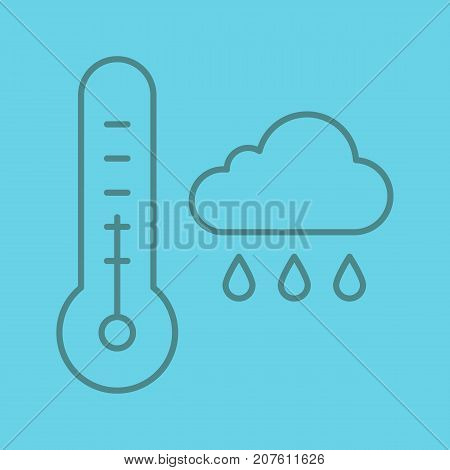 Autumn Weather Linear Vector & Photo (Free Trial) | Bigstock