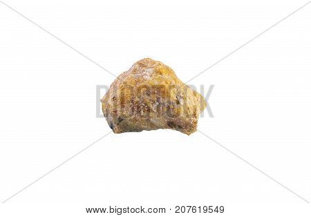 Opal Stone Isolated On White