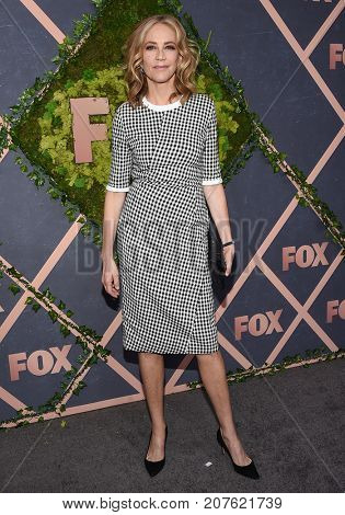 LOS ANGELES - SEP 25:  Ally Walker arrives for the FOX Fall Party on September 25, 2017 in West Hollywood, CA