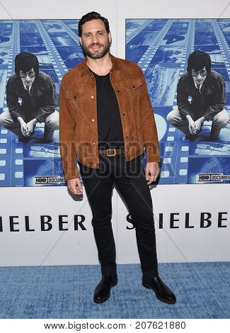 LOS ANGELES - SEP 26:  Edgar Ramirez arrives for the HBO's premiere of 'Spielberg' on September 26, 2017 in Hollywood, CA