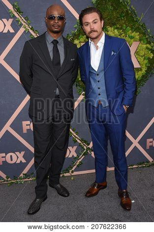 LOS ANGELES - SEP 25:  Damon Wayans and Clayne Crawford arrives for the FOX Fall Party on September 25, 2017 in West Hollywood, CA