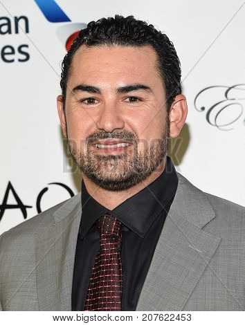 LOS ANGELES - SEP 24:  Adrian Gonzalez arrives for the 'El Sueno De Esperanza' Celebration on September 24, 2017 in Hollywood, CA
