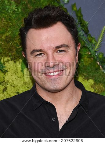 LOS ANGELES - SEP 25:  Seth MacFarlane arrives for the FOX Fall Party on September 25, 2017 in West Hollywood, CA