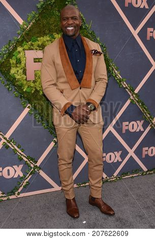 LOS ANGELES - SEP 25:  Terry Crews arrives for the FOX Fall Party on September 25, 2017 in West Hollywood, CA