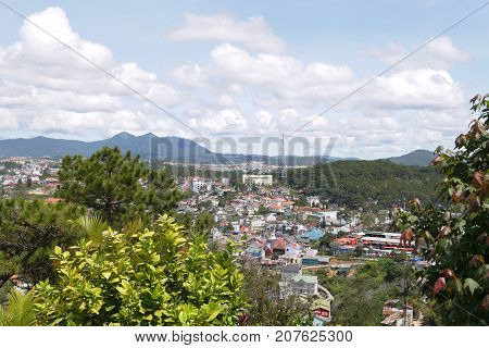 Da Lat -- the gaining nice town with flower beds and cool mountain air
