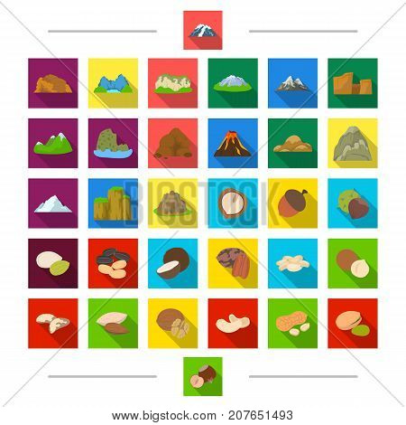 Dessert, food, ecology and other  icon in cartoon style. Product, delicacy, seasoning, icons in set collection