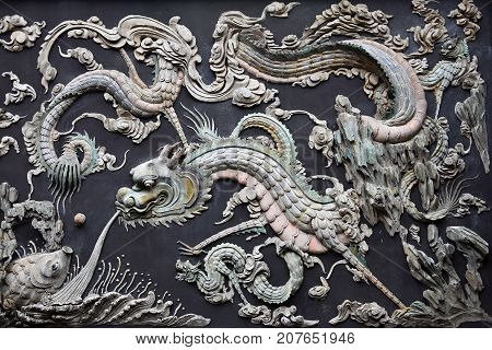 Chinese dragon is a legendary creature in Chinese mythology and Chinese folklore.