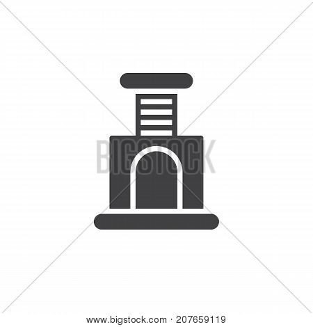 Cat scratcher icon vector, filled flat sign, solid pictogram isolated on white. Symbol, logo illustration.