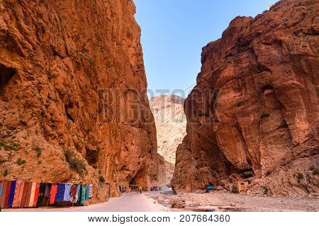 Todgha Gorge In Morocco