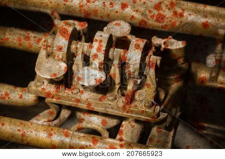 Part Of A Very Old Trumpet - Rusty