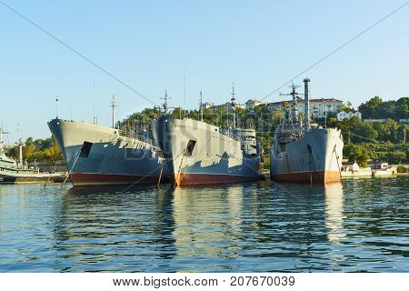Floating Shops Pm-56 Pm-138 Maritime Transport Of Weapons,