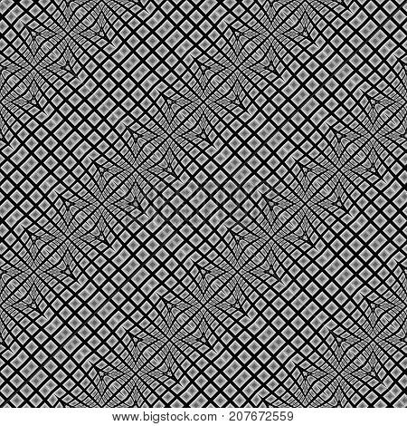Design Seamless Warped Geometric Pattern