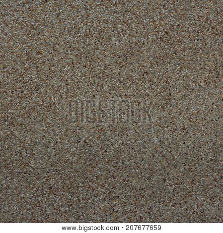 Small sand stone of sand wall texture or sand wall background. Natural brown sand stone for design