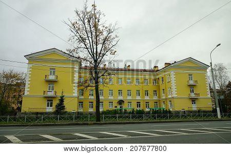 Ancient Buildings In Saint Petersburg, Russia