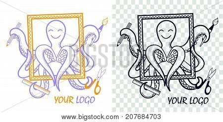 Logo  Development Octopus