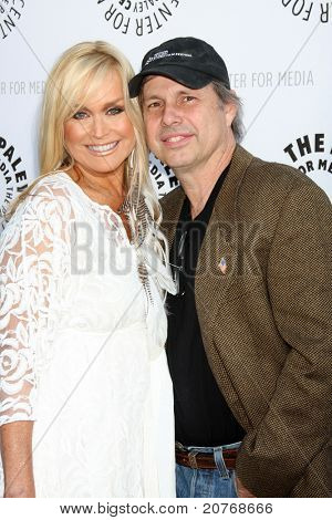 LOS ANGELES - JUN 7:  Catherine Hickland, Todd Fisher arrive at the Debbie Reynolds Hollywood Memorabilia Collection Auction Preview at Paley Center For Media on June 7, 2011 in Beverly Hills, CA