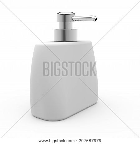 Flat Cosmetic Container Bottle