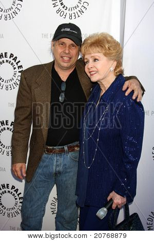 LOS ANGELES - JUN 7:  Todd Fisher, Debbie Reynolds arrive at the Debbie Reynolds Hollywood Memorabilia Collection Auction Preview at Paley Center For Media on June 7, 2011 in Beverly Hills, CA