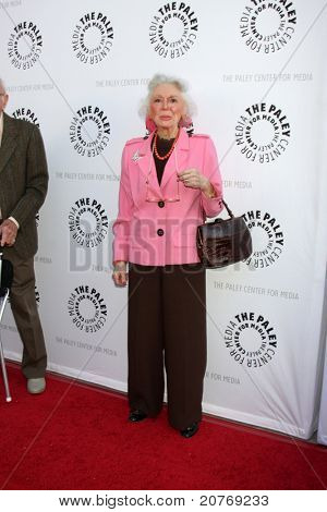 LOS ANGELES - JUN 7:  Ann Rutherford arrives at the Debbie Reynolds Hollywood Memorabilia Collection Auction & Auction Preview at Paley Center For Media on June 7, 2011 in Beverly Hills, CA