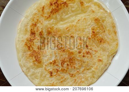 baked roti southern flat bread on plate