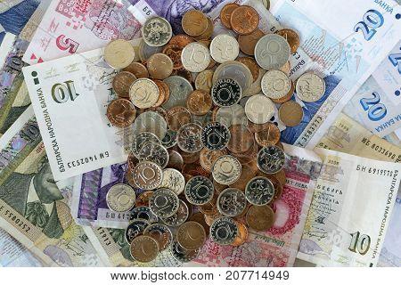 Bulgarian Lev Money Banknotes