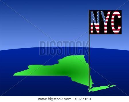 New York City On Map