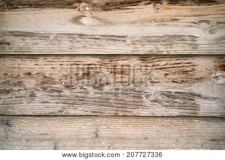 Row of Wooden Planks Background Flat lay Wooden panel.