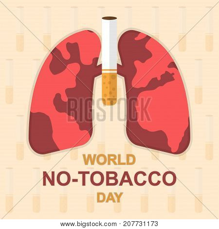 world, day, no, tobacco, cigarette, stop, poster, health, medical, smoke, danger, unhealthy, death, cancer, habit, quit, lung, advertising, burn, disease, addicted, awareness, illness, harmful, inhalation, anti, forbidden, breath, smoking, globe, conserva