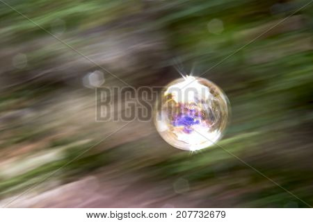 Soap Bubble Pan Abstraction