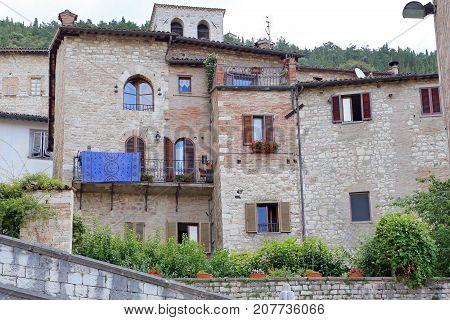 Gubbio (PG) medieval town in Umbria (Italy)