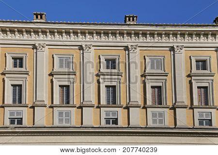 Villa Farnese (in italian Palazzo Farnese) Caprarola.
