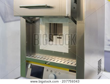 the high Temperature Muffle Furnace in laboratory