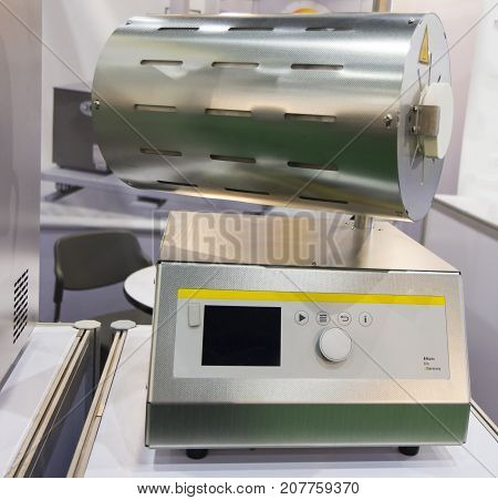 High Temperature rotary tube furnace for laboratory