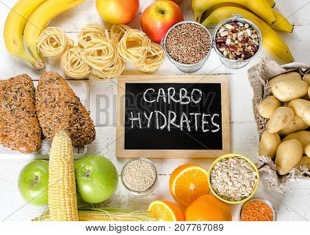 Foods Highest In Carbohydrates