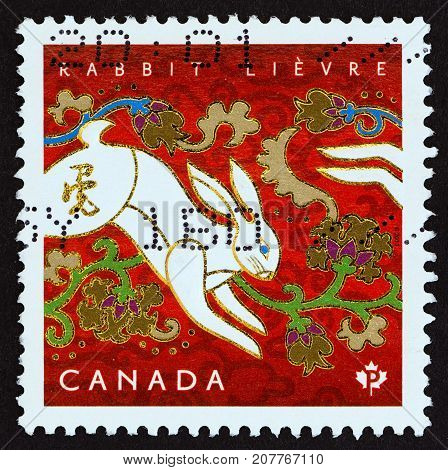 CANADA - CIRCA 2011: A stamp printed in Canada from the