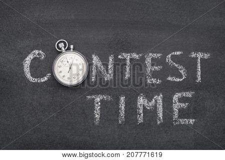 Contest Time Watch