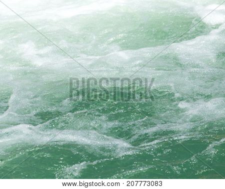 rough water on the surface . Photo of abstract background