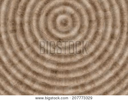 Brown spiral background - abstract waved brown color illustration