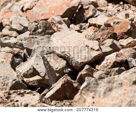 rocky rock as background . Photo of abstract background
