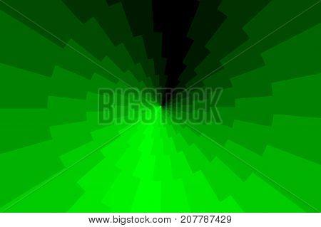 Lightning bolt - abstract geometric vector pattern - green , Thunder abstract background