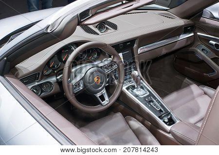 Interior Of Porsche 911 Turbo
