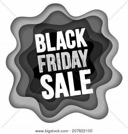 Black Friday Sale Advertise Design