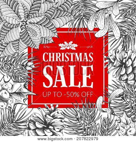 Winter Sale Advertise Design