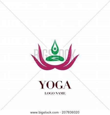 Yoga Pose Lotus Vector Photo Free Trial Bigstock
