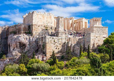 Parthenon Temple In Athens