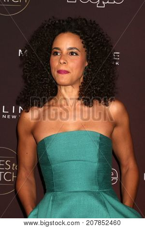 LOS ANGELES - OCT 4:  Parisa Fitz-Henley at the 2017 People's Ones To Watch at the NeueHouse Hollywood on October 4, 2017 in Los Angeles, CA