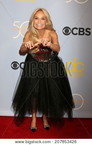 LOS ANGELES - OCT 4:  Kristin Chenoweth at the Carol Burnett 50th Anniversary Special Arrivals at the CBS Television City on October 4, 2017 in Los Angeles, CA